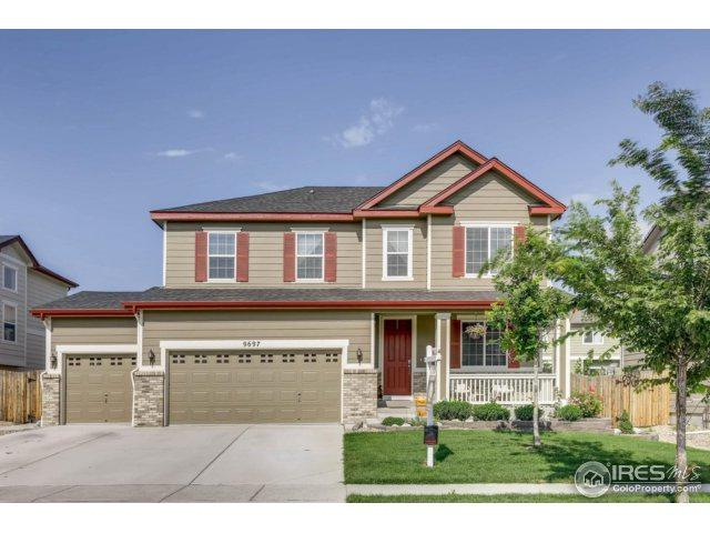 9697 Olathe St, Commerce City, CO 80022 (#829758) :: The Peak Properties Group