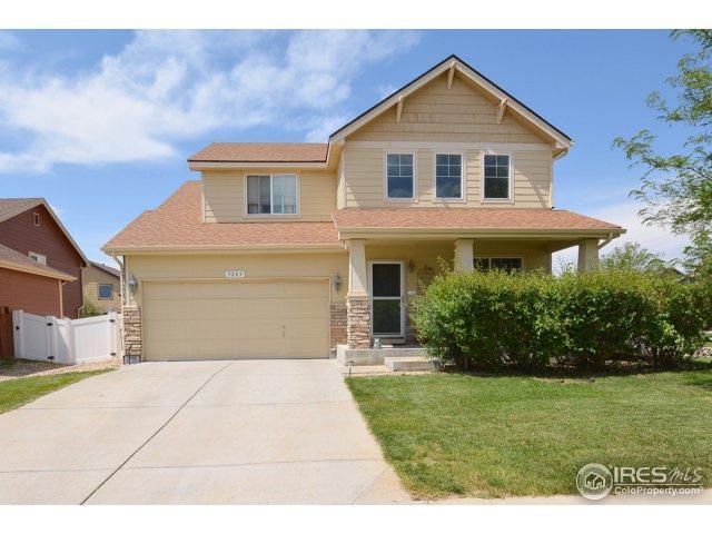 3203 San Marino Ave, Evans, CO 80620 (MLS #829771) :: 8z Real Estate