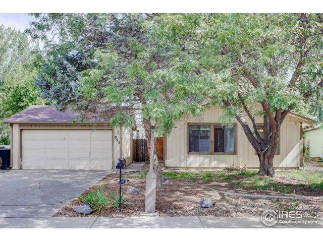 993 Pasque Dr, Longmont, CO 80504 (MLS #829829) :: 8z Real Estate