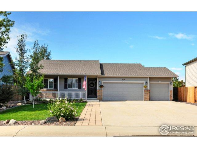 3821 Homestead Dr, Mead, CO 80542 (MLS #829843) :: Kittle Real Estate