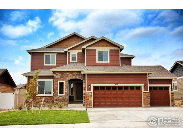 816 Shirttail Peak Dr, Windsor, CO 80550 (MLS #829852) :: Kittle Real Estate