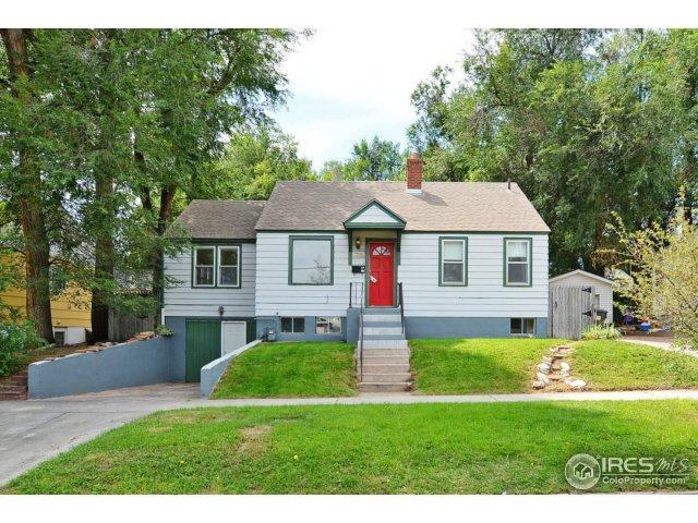 1708 10th St, Greeley, CO 80631 (MLS #829987) :: 8z Real Estate
