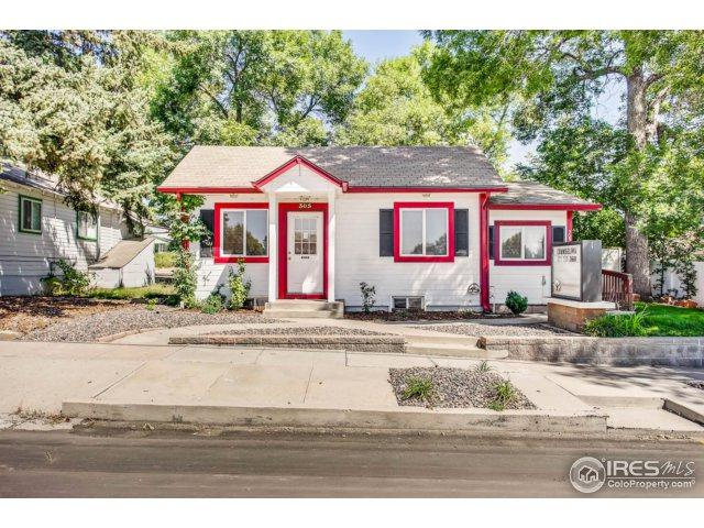 305 W South 1st St, Johnstown, CO 80534 (MLS #830182) :: The Daniels Group at Remax Alliance