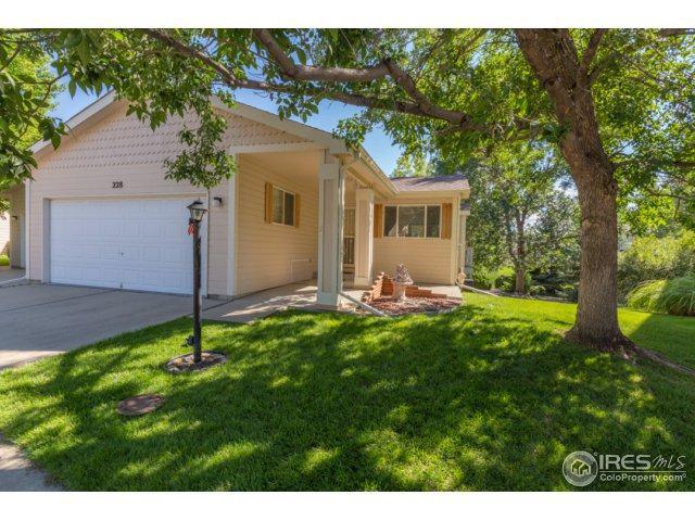 228 Acacia Dr, Loveland, CO 80538 (MLS #830212) :: 8z Real Estate
