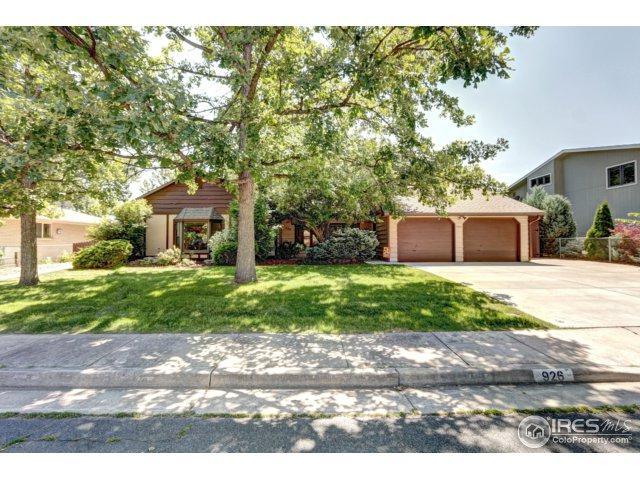 926 Oleander Dr, Loveland, CO 80538 (MLS #830237) :: 8z Real Estate