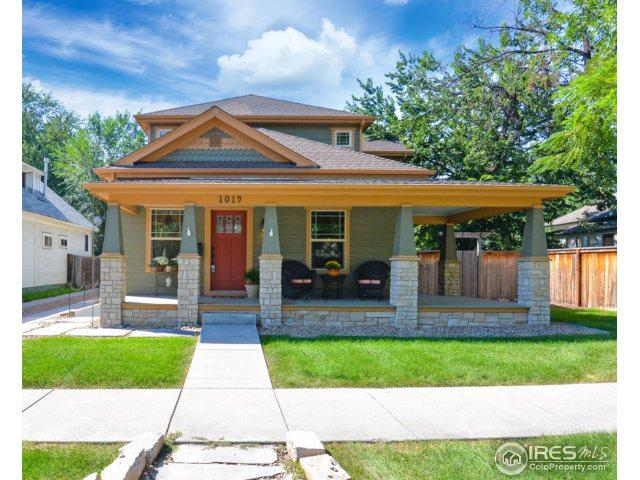 1019 W Oak St, Fort Collins, CO 80521 (MLS #830294) :: The Daniels Group at Remax Alliance