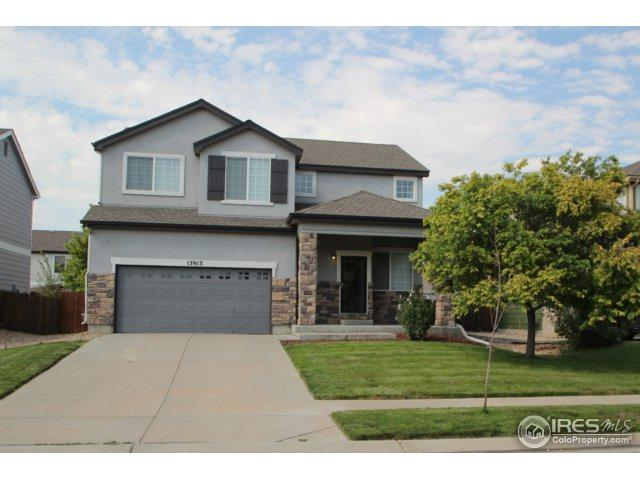 13913 E 104th Pl, Commerce City, CO 80022 (#830365) :: The Griffith Home Team