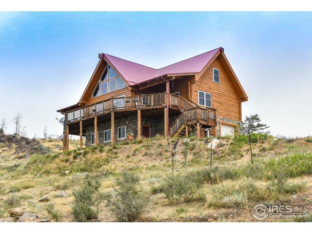 1234 Saddle Ridge Rd, Bellvue, CO 80512 (#831211) :: The Peak Properties Group