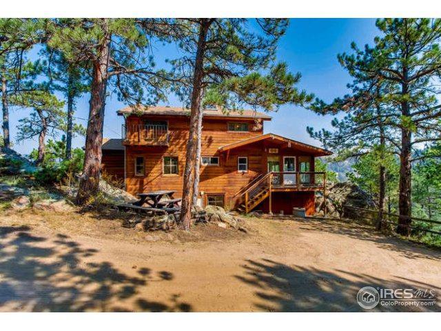128 Elk Rd, Lyons, CO 80540 (MLS #831784) :: 8z Real Estate