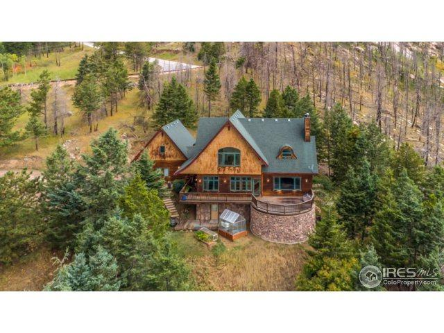 15860 Rist Canyon Rd, Bellvue, CO 80512 (MLS #832490) :: Downtown Real Estate Partners