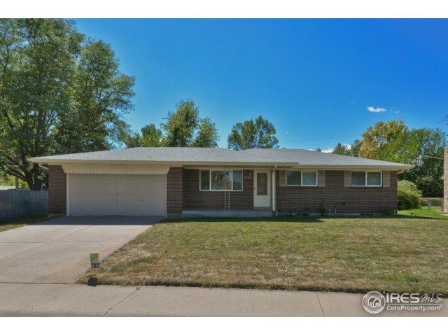 1429 32nd Ave, Greeley, CO 80634 (MLS #832582) :: The Forrest Group