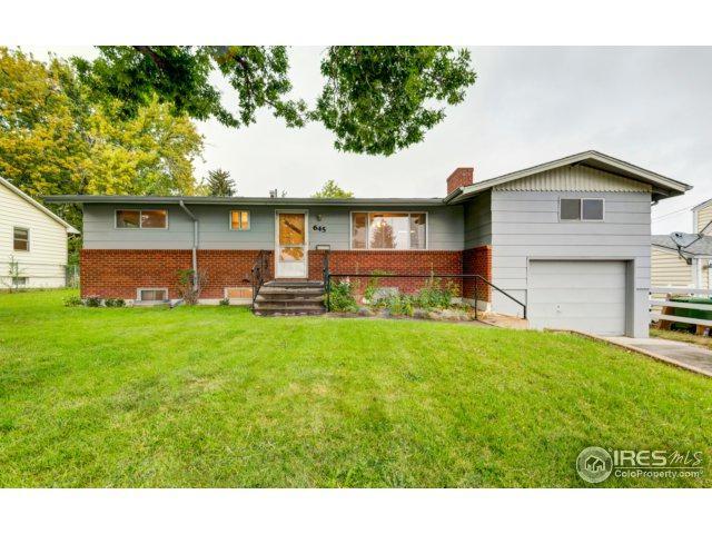 645 E 16th St, Loveland, CO 80538 (#833293) :: The Peak Properties Group