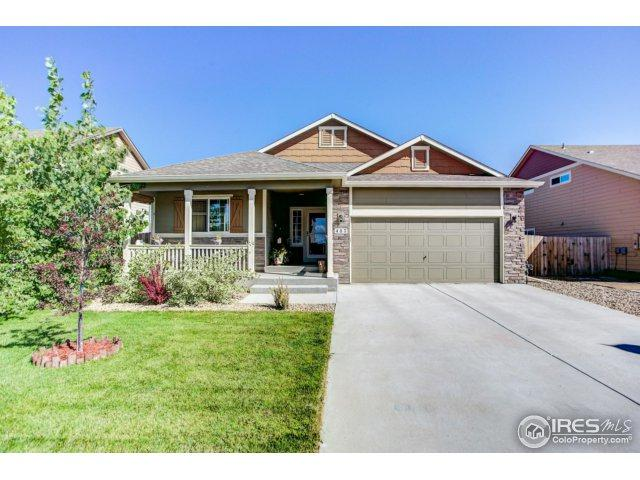 437 Grange Ln, Johnstown, CO 80534 (MLS #834455) :: The Daniels Group at Remax Alliance
