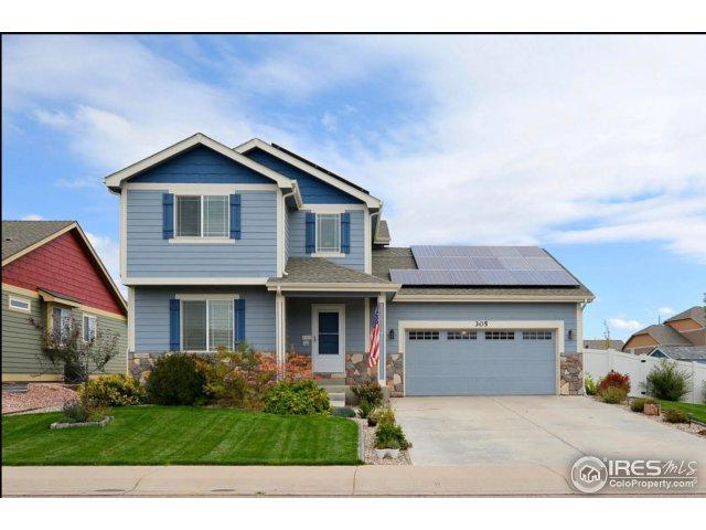 305 Telluride Dr, Windsor, CO 80550 (MLS #835350) :: The Daniels Group at Remax Alliance