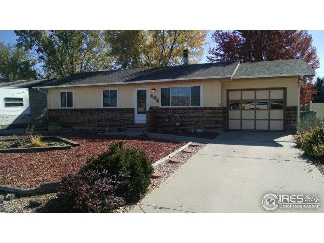 406 32nd St, Evans, CO 80620 (MLS #836254) :: 8z Real Estate
