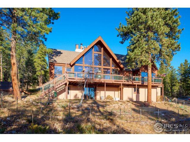 1289 Pine Glade Rd, Nederland, CO 80466 (MLS #836632) :: 8z Real Estate