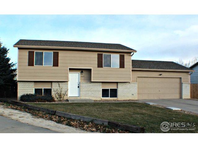 1537 San Juan Cir, Evans, CO 80620 (MLS #837775) :: Kittle Real Estate