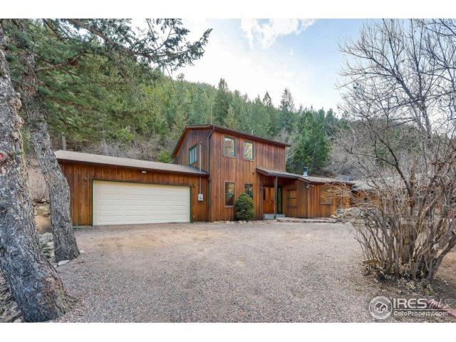 8493 Lefthand Canyon Dr, Jamestown, CO 80455 (#837970) :: The Peak Properties Group