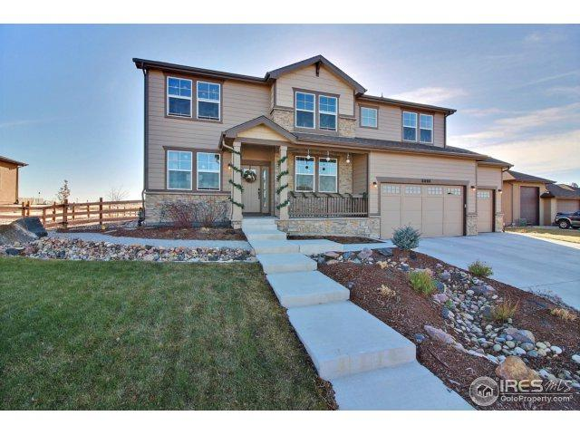 8008 Skyview St, Greeley, CO 80634 (#838130) :: The Peak Properties Group