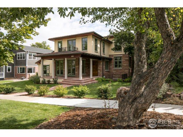 820 8th St, Boulder, CO 80302 (#838213) :: The Griffith Home Team