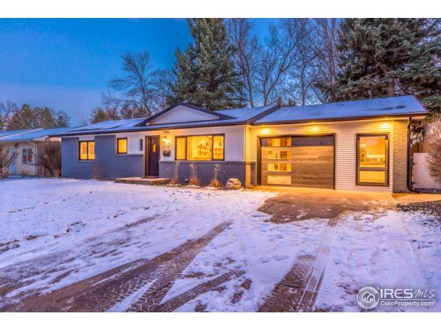1609 Maple St, Fort Collins, CO 80521 (MLS #838321) :: The Daniels Group at Remax Alliance
