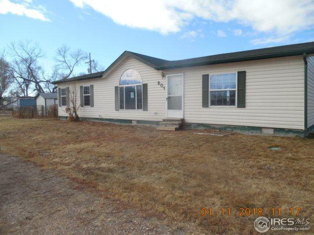 801 Mckinley St, Sterling, CO 80751 (#839437) :: The Griffith Home Team
