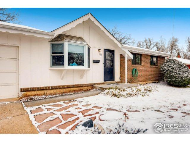755 S 43rd St, Boulder, CO 80305 (MLS #839716) :: 52eightyTeam at Resident Realty
