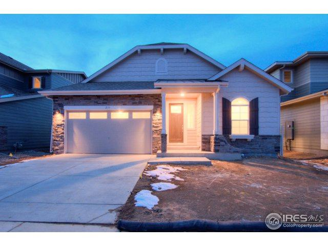 233 Dassault St, Fort Collins, CO 80524 (#839953) :: The Griffith Home Team