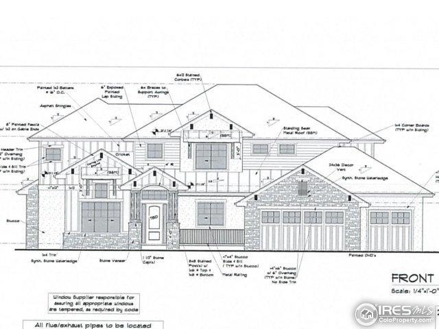 7925 Blackwood Dr, Windsor, CO 80550 (#840835) :: The Peak Properties Group
