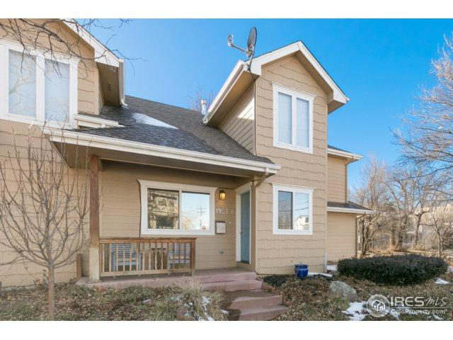 1927 23rd St B, Boulder, CO 80302 (MLS #841666) :: The Daniels Group at Remax Alliance