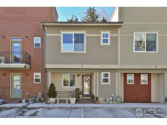 409 Terry St D, Longmont, CO 80501 (MLS #841797) :: The Daniels Group at Remax Alliance