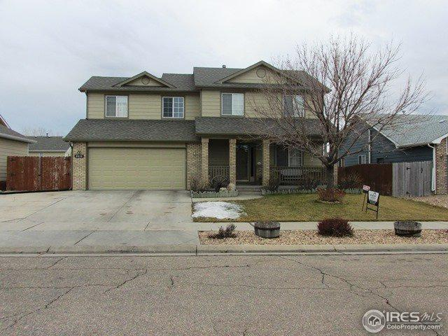 3816 Ironhorse Dr, Evans, CO 80620 (MLS #841905) :: Kittle Real Estate