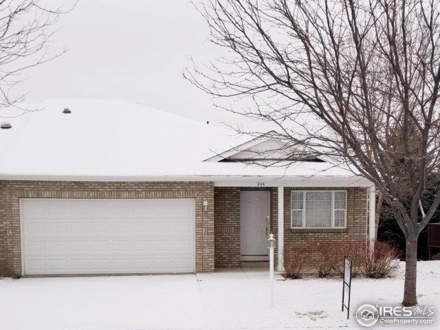 244 Shupe Cir, Loveland, CO 80537 (MLS #842034) :: Kittle Real Estate