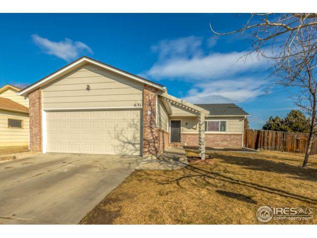 631 E 42nd St, Loveland, CO 80538 (MLS #842036) :: Kittle Real Estate