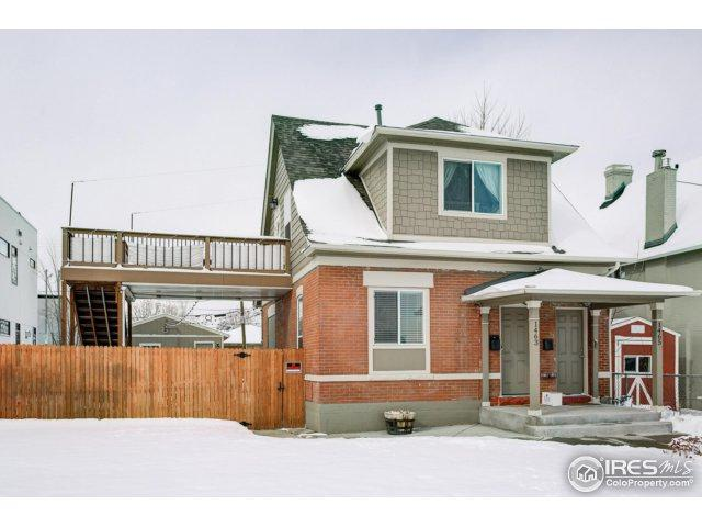 1463 Yates St, Denver, CO 80204 (MLS #842183) :: The Daniels Group at Remax Alliance