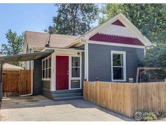 104 S Shields St, Fort Collins, CO 80521 (#842215) :: The Umphress Group