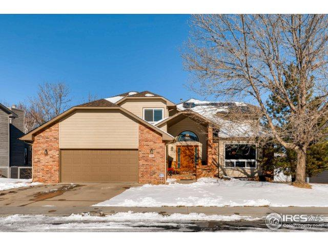 689 W Hickory St, Louisville, CO 80027 (#842328) :: The Peak Properties Group