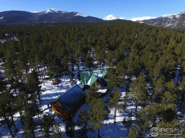 13143 Highway 7 Hwy, Allenspark, CO 80510 (#842335) :: The Peak Properties Group