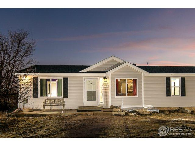1306 2nd St, Nunn, CO 80648 (MLS #842353) :: The Forrest Group