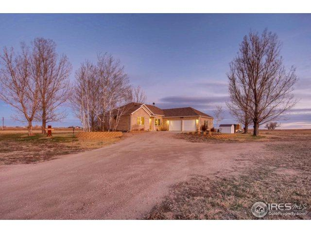 25376 County Road 48, Kersey, CO 80644 (MLS #842445) :: The Forrest Group