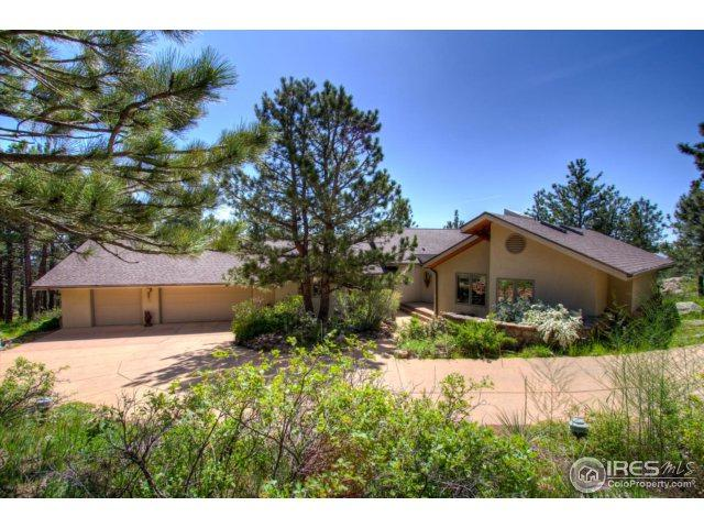 9612 Mountain Ridge Pl, Boulder, CO 80302 (#842573) :: The Peak Properties Group
