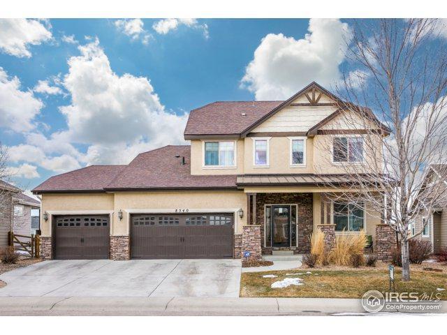 8540 Allenbrook Dr, Windsor, CO 80550 (#842850) :: The Peak Properties Group