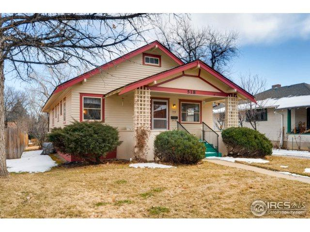 518 Gay St, Longmont, CO 80501 (MLS #842969) :: The Daniels Group at Remax Alliance