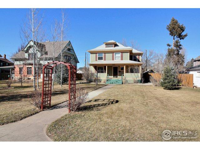 1211 11th St, Greeley, CO 80631 (MLS #843553) :: The Daniels Group at Remax Alliance