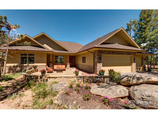 2269 E Fox Acres Dr, Red Feather Lakes, CO 80545 (MLS #843634) :: The Daniels Group at Remax Alliance