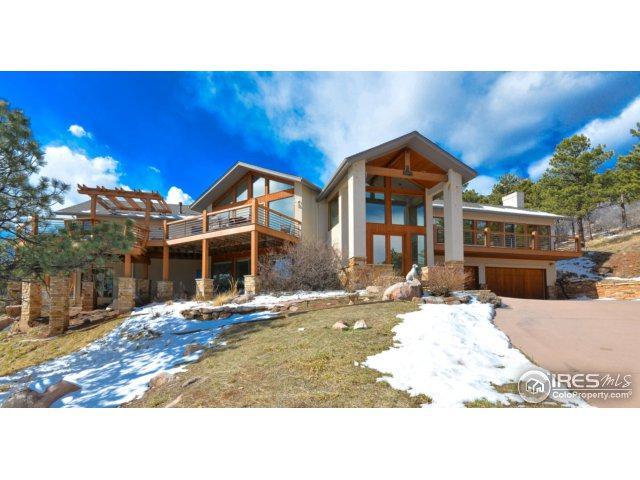 9533 Mountain Ridge Dr, Boulder, CO 80302 (#844051) :: The Peak Properties Group