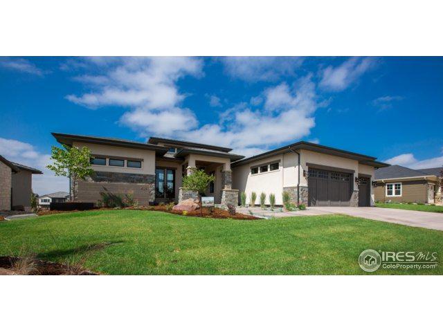4029 Ridgeline Dr, Timnath, CO 80547 (#844200) :: The Peak Properties Group
