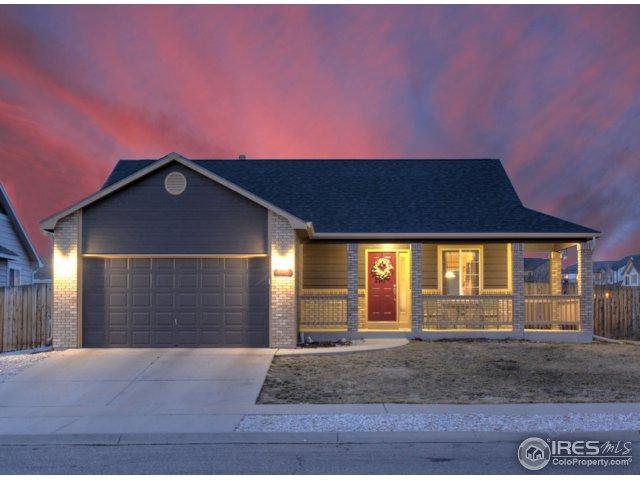 3711 Ironhorse Dr, Evans, CO 80620 (#844439) :: The Peak Properties Group