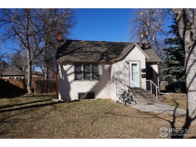 310 E Plum St, Fort Collins, CO 80524 (MLS #844443) :: 8z Real Estate
