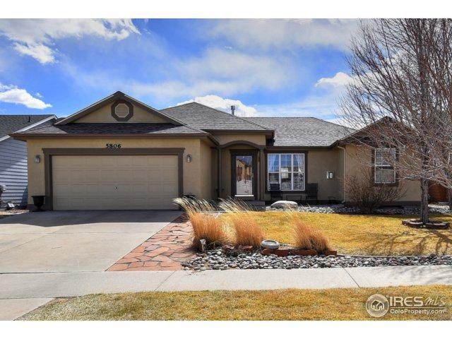 5806 Sauvignon St, Greeley, CO 80634 (#844807) :: The Peak Properties Group